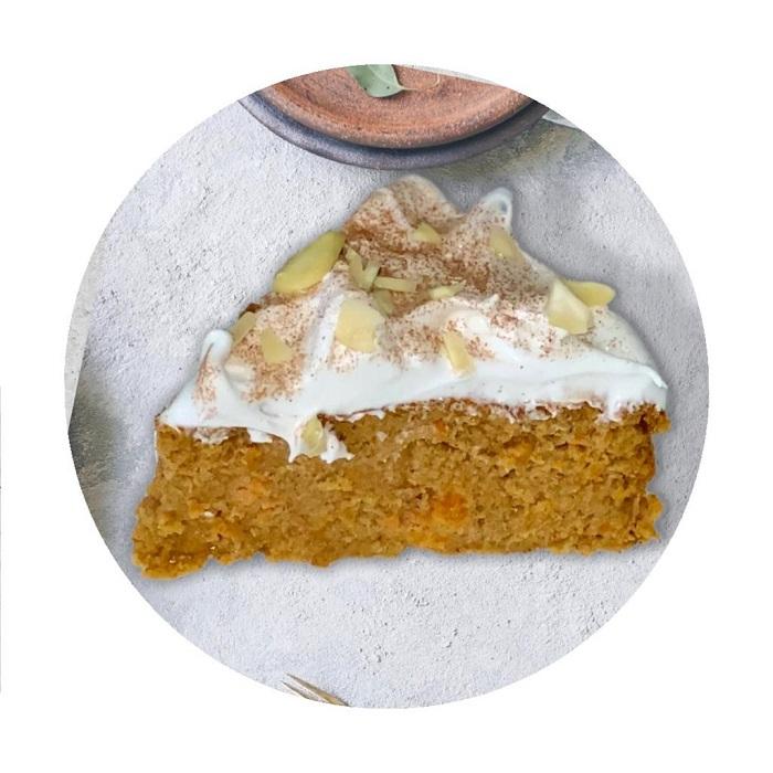 Torta de Zanahoria Saludable Sin Harinas
