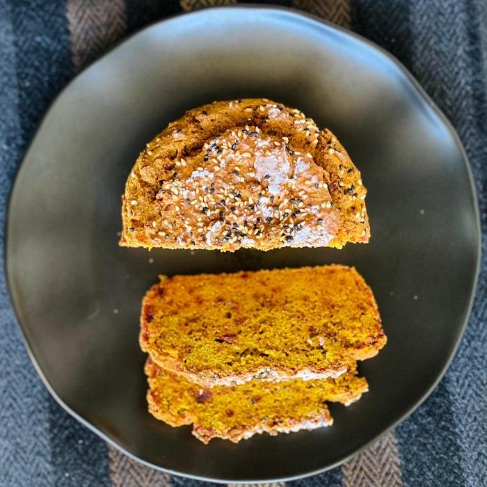 Pan de Betarraga en Licuadora Sin Gluten