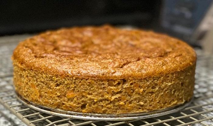 Carrot Cake Saludable Sin Harinas con Batata Camote