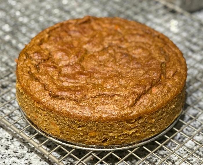 Torta de Zanahoria Sin Gluten